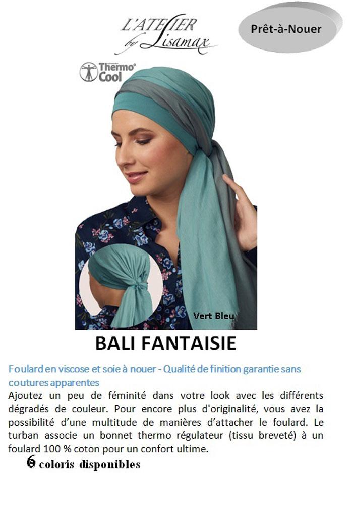 """Turban """"Bali Fantaisie"""""""