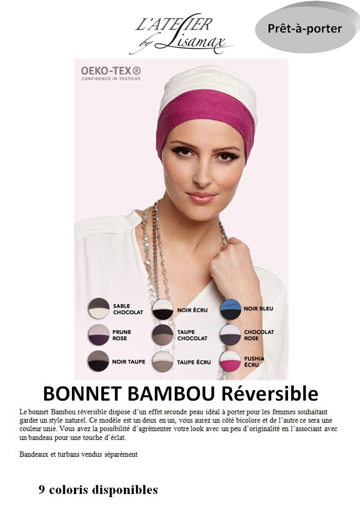 "Bonnet ""Bambou Réversible"""