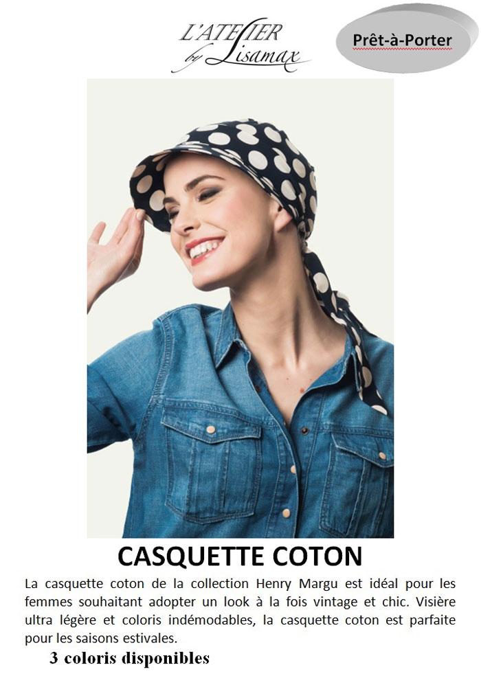 """Casquette """"Coton"""""""
