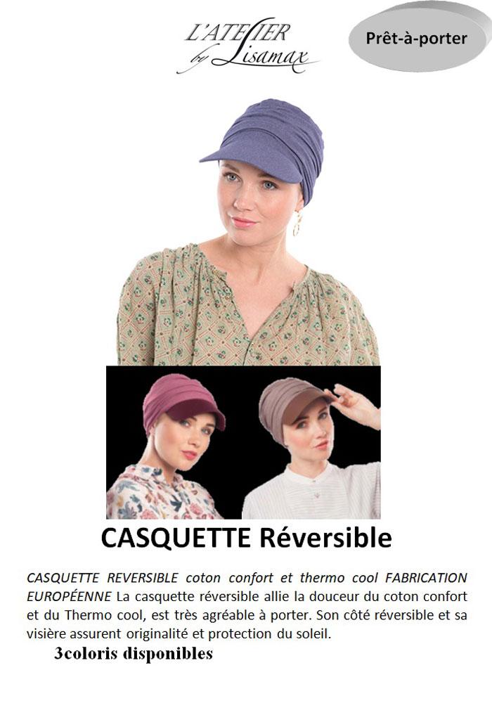 """Casquette """"Réversible"""""""