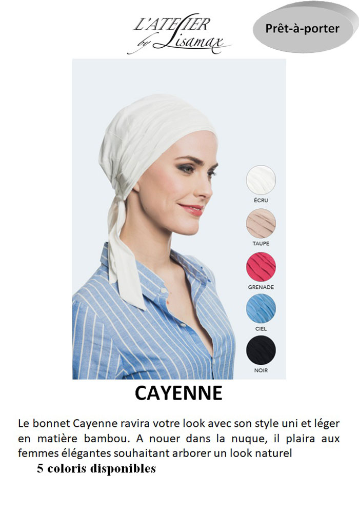 """Bonnet """"Cayenne"""""""