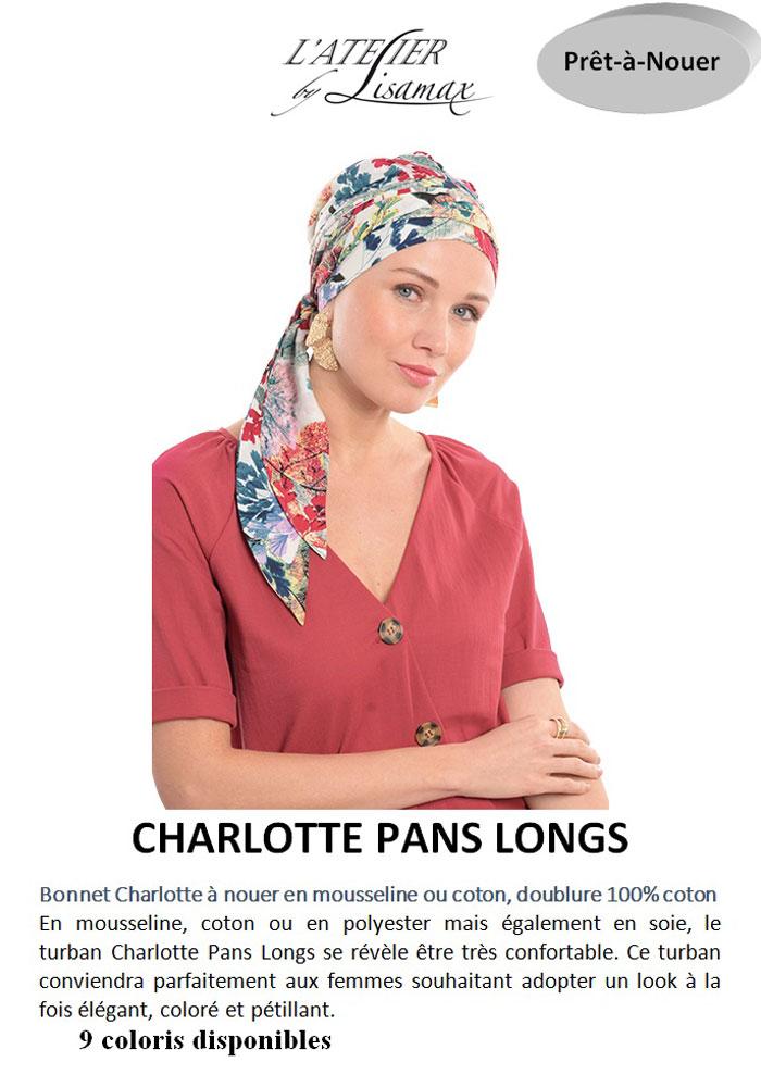 """Bonnet """"Charlotte Pans Lons"""""""