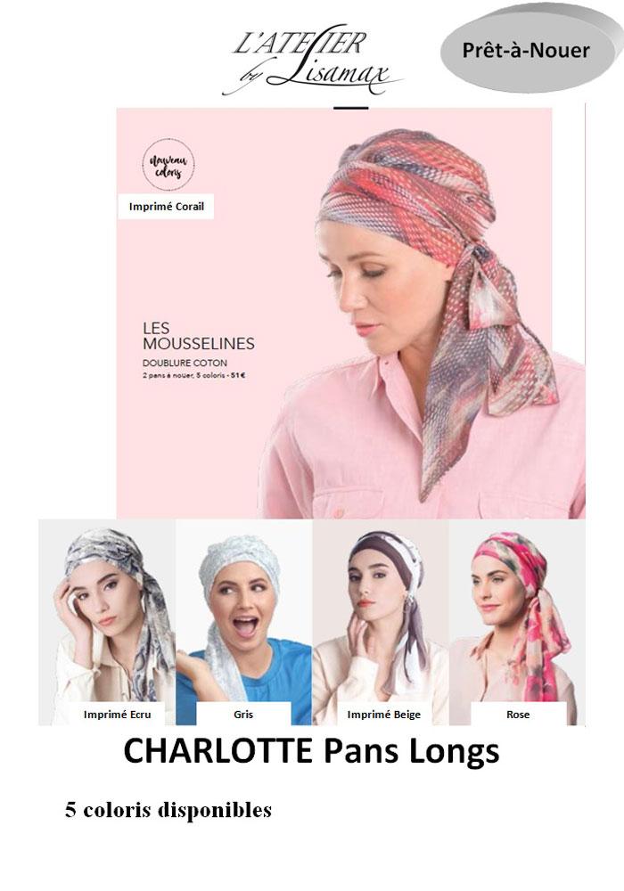 """Bonnet """"Charlotte Pans Lons"""" (autres coloris)"""