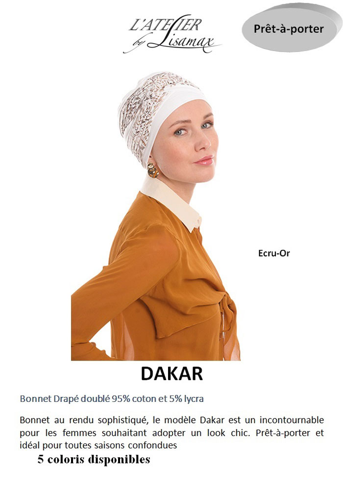 """Bonnet """"Dakar"""""""