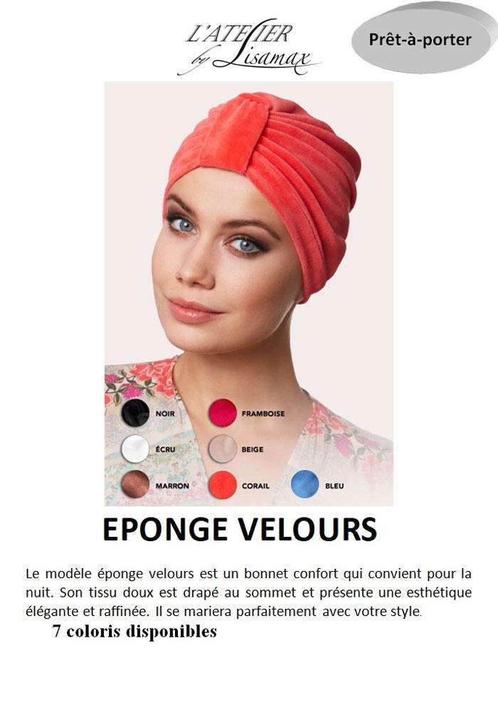 """Bonnet """"Eponge Velours"""""""