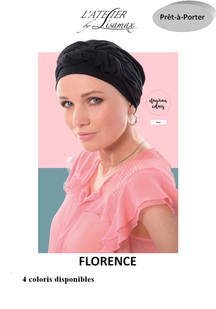 """Bonnet """"Florence"""" (noir)"""