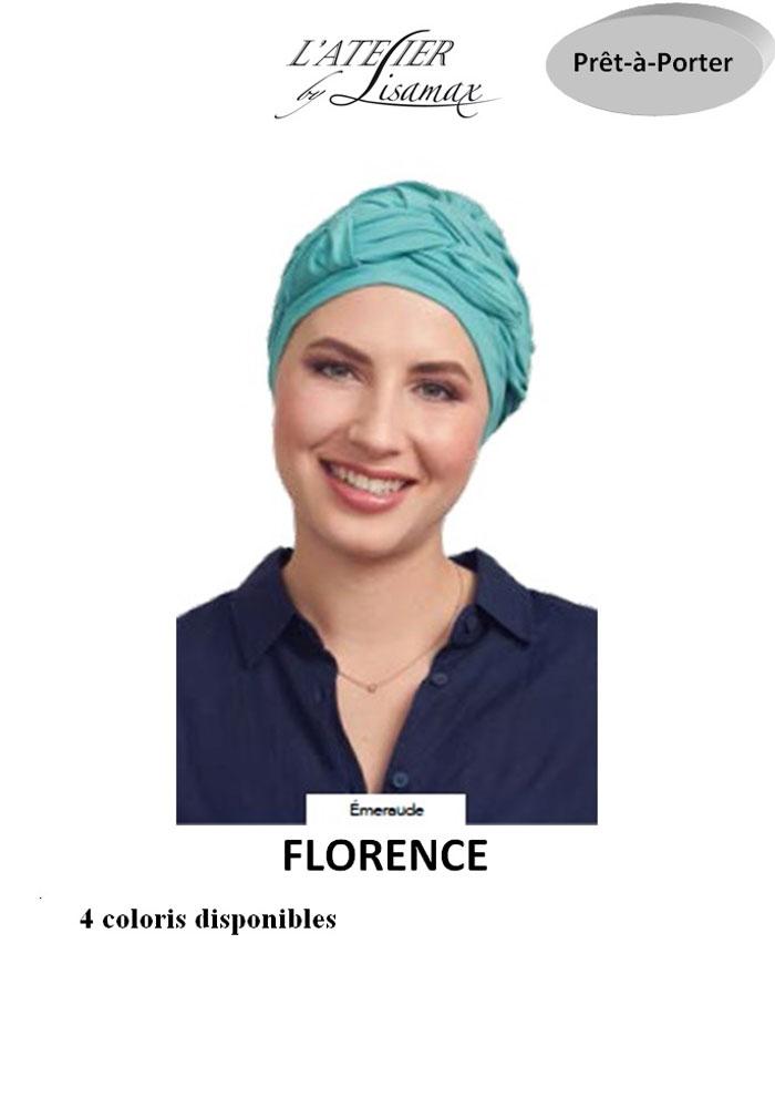 "Bonnet ""Florence"" (émeraude)"
