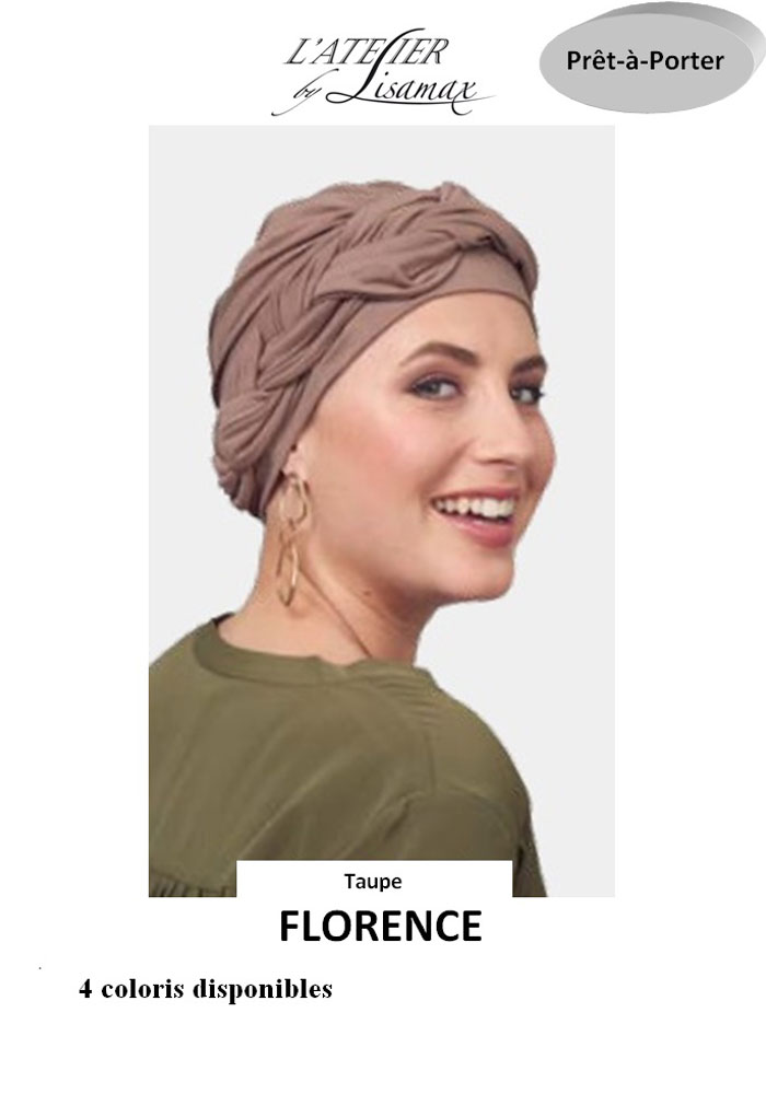 """Bonnet """"Florence"""" (taupe)"""