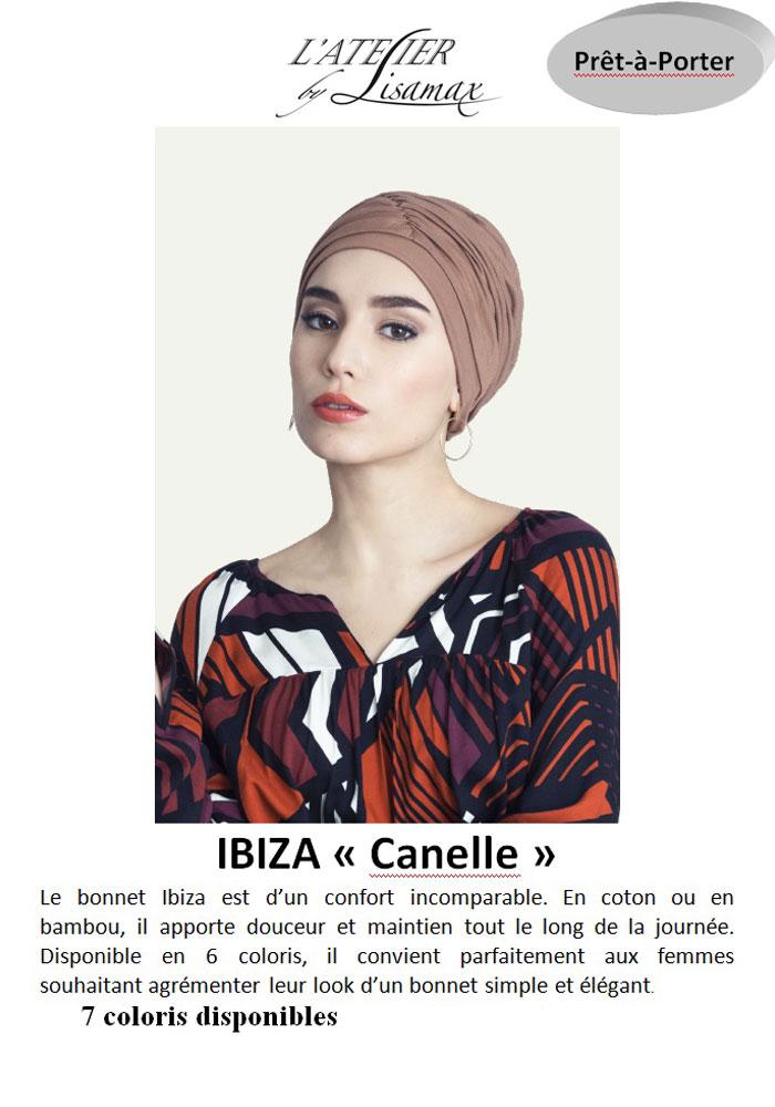 """Bonnet """"Ibiza"""" (cannelle)"""