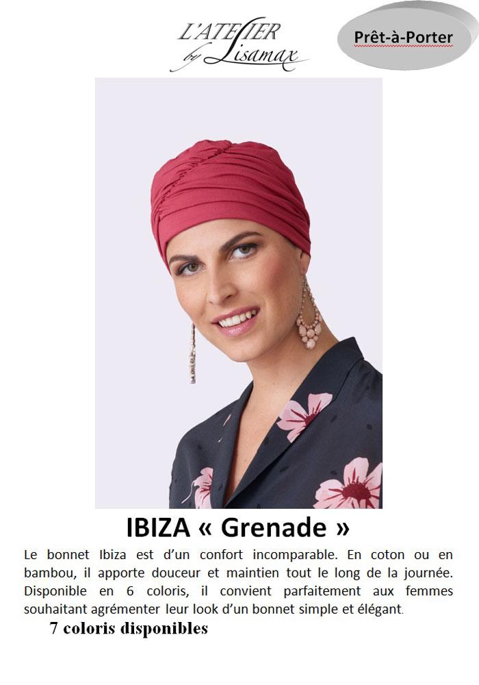 """Bonnet """"Ibiza"""" (grenade)"""