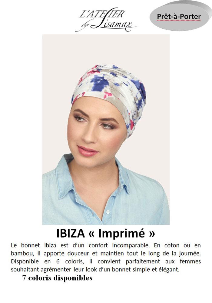 """Bonnet """"Ibiza"""" (imprimé)"""