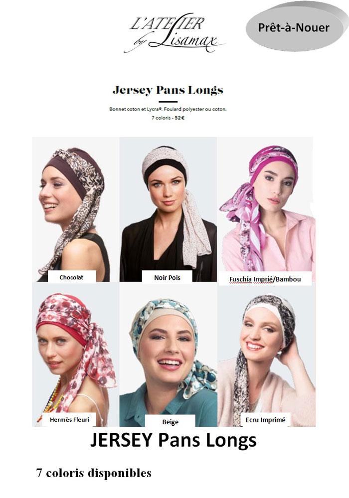 """Turban """"Jersey Pans Longs"""" (autres coloris)"""