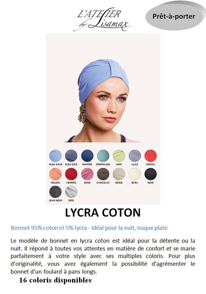 """Bonnet """"Lycra Coton"""""""