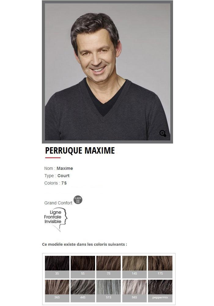 """Perruque """"Maxime"""""""