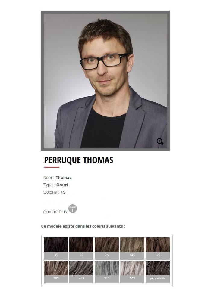 "Perruque ""Thomas"""