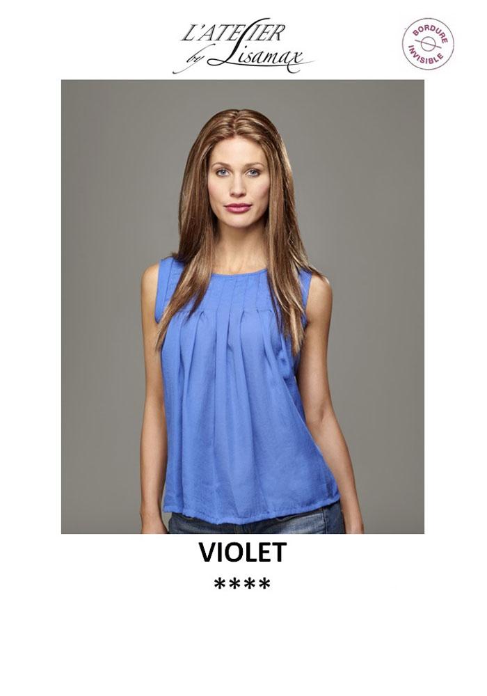 "Perruque ""Violet"""