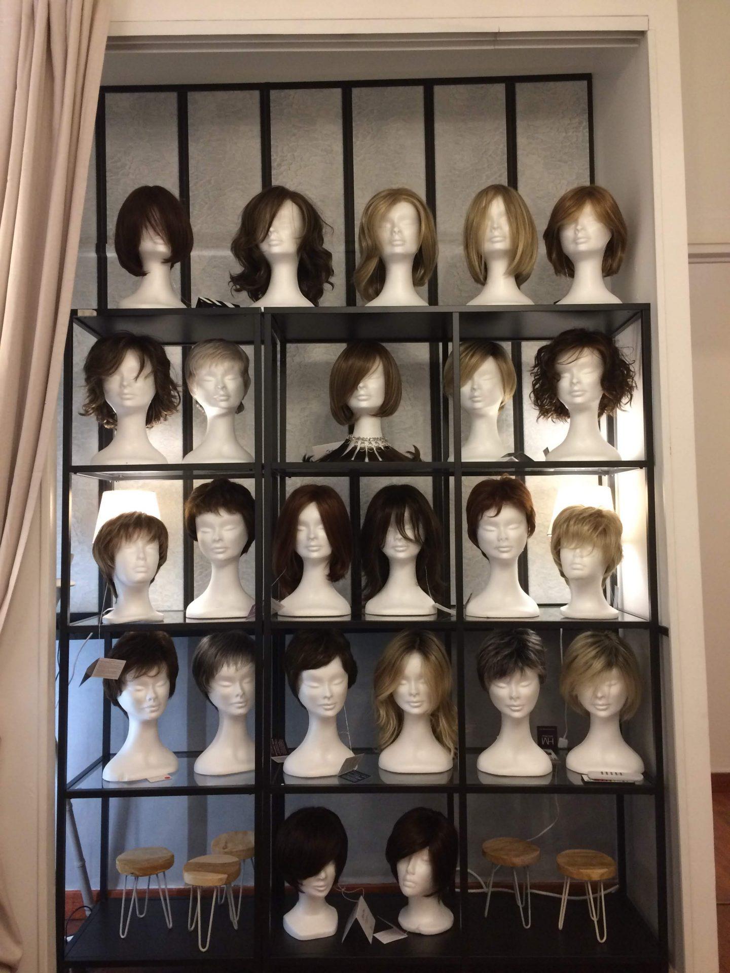 Détail chevelures